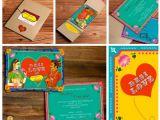 Marriage Card Price In Kolkata Indian Cartoon Wedding Invitations Inspiration Frugal2fab
