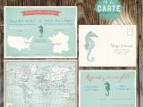 Marriage Card Quotes In English Bilingual Destination Wedding Invitation Rsvp Card World Map