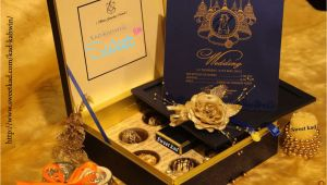 Marriage Card with Sweet Box Kad Kahwin with Images Box Wedding Invitations Card Box