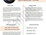 Marriage Resume format for Girl In Word Biodata format for Marriage 7 Samples 2 Bonus Word