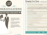 Marriage social Security Card Name Change How to Change Your Last Name the New Bride S Checklist