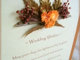 Marriage Wishes Card with Name Papercraft Dried Florals Gift Card May Your Days Be