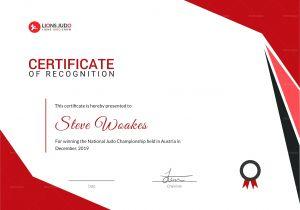 Martial Arts Gift Certificate Template Art Gift Certificate Template Gallery Certificate Design