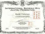 Martial Arts Gift Certificate Template Free Certificate Templates for Martial Arts Choice Image