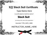 Martial Arts Gift Certificate Template Martial Arts Grading Certificate Template Templates