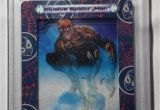 Marvel Wrapping Paper Card Factory 2002 Spider Man Film Card 52 Pgc Mint 9