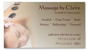 Massage therapy Business Card Templates Free 231 Best Images About Spa Business Cards On Pinterest