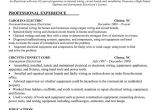 Master Electrician Resume Template Electrician Resume Sample Interview Ready Pinterest