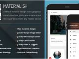 Material Design HTML Email Template 30 Material Design HTML5 Templates Available for Download