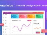 Material Design HTML Email Template Materialize Material Design Admin Template by Pixinvent
