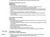 Material Management Resume Sample Material Management Resume Samples Velvet Jobs
