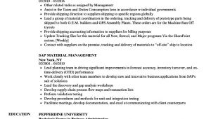 Material Management Resume Sample Material Management Resume Samples Velvet Jobs