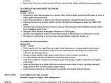Material Management Resume Sample Materials Management Resume Samples Velvet Jobs