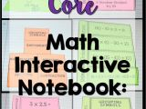Math Interactive Notebook Templates Teaching order Of Operations Free Inb Template