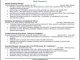 Mba Marketing Experience Resume Sample Mba Resume Sample Best Professional Resumes Letters