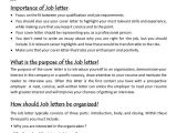 Meaning Of Resume In Job Application Job Letter Resume Writing