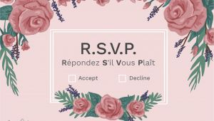 Meaning Of Rsvp In Invitation Card What Does Rsvp Mean On An Invitation
