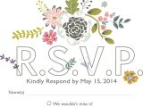 Meaning Of Rsvp In Marriage Card How to Word Your Rsvps