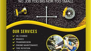 Mechanic Flyer Templates Free 20 Car Repair Flyer Templates Free Premium Download