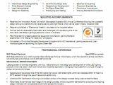 Mechanical Engineer Graduate Resume Mechanical Engineer Resume Template Example