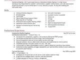 Mechanical Engineer Quality Resume Automotive Quality Engineer Resume Sample Livecareer