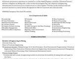 Mechanical Engineer Quality Resume Quality Control Engineer Resume Sample Template
