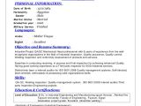 Mechanical Engineer Quality Resume Sr Qa Qc Mechanical Engineer