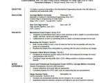 Mechanical Engineer Resume Pdf Resume Template for Fresher 10 Free Word Excel Pdf