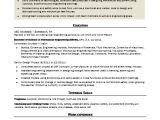 Mechanical Engineer Resume Sample Sample Resume for An Entry Level Mechanical Engineer