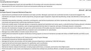 Mechanical Engineer Visual Resume Mechanical Engineer Resume Samples and Templates Visualcv