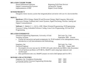 Mechanical Engineering Student Resume Engineering Student Resume Ipasphoto