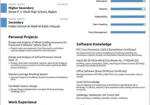 Mechanical Engineering Student Resume What is the Best Resume format for A Mechanical