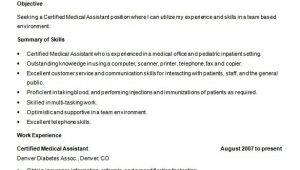Medical assistant Resume Templates Free 5 Medical assistant Resume Templates Doc Pdf Free