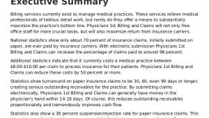 Medical Billing Proposal Template Medical Business Proposal Templates 8 Free Word Pdf