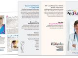 Medical Office Brochure Templates Pediatric Child Care Services Brochure Template Images
