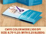 Medical Tri Fold Brochure Templates for Free Medical Free Brochure Psd Template by Elegantflyer