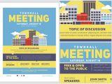 Meeting Flyer Template Free Community Meeting Flyer Template V2 Flyerheroes