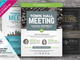 Meeting Flyer Template Free town Hall Meeting Flyer Bundle Flyer Templates