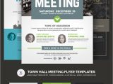 Meeting Flyer Template Free town Hall Meeting Flyer Psd Template 66046