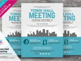 Meeting Flyer Template Free town Hall Meeting Flyer Vol 02 Flyer Templates