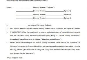 Members Resolution Template Board Member Bio Template Free Templates Resume