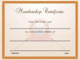Membership Certificates Templates 15 Best Membership Certificate Template Images On