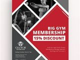 Membership Flyer Template Free Gym Promotion Flyer Template Download 1423 Flyers