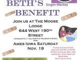 Memorial Benefit Flyer Template 4 Best Images Of Benefit Flyer for Deceased Benefit