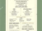 Menu Layouts Templates Menu Design for Breakfast Restaurant Cafe Graphic Design