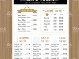 Menu Layouts Templates Menu Design Template Layout Cafe Restaurant Hipster Style