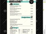 Menu Layouts Templates Restaurant Breakfast Menu Design Template Layout Stock