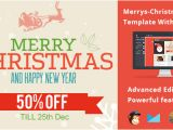 Merry Christmas Email Template to Colleagues Merrys Christmas Email Template with Editor by Emailmad