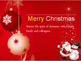 Merry Christmas Email Template to Colleagues Ms Word Colorful Christmas Card Templates Word Excel