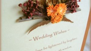 Message for Gift Card Wedding Papercraft Dried Florals Gift Card May Your Days Be